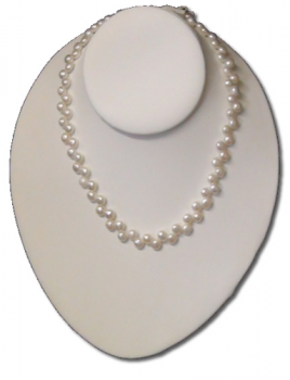 DoubleZigZag Wedding Pearls